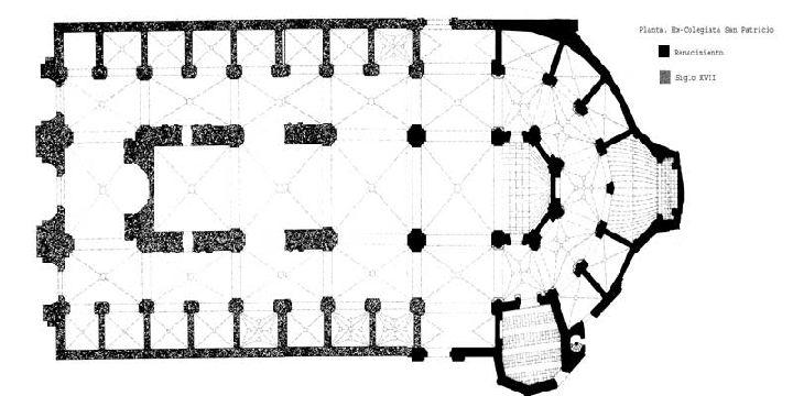 Planta de San Patricio, documento del SIGLO XVI d.C.