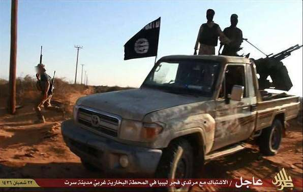 isis captura sirte en libia