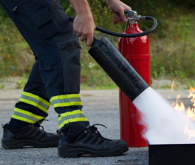 bomberos conatos de incendio forestal