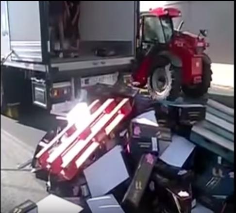 camion regional en francia