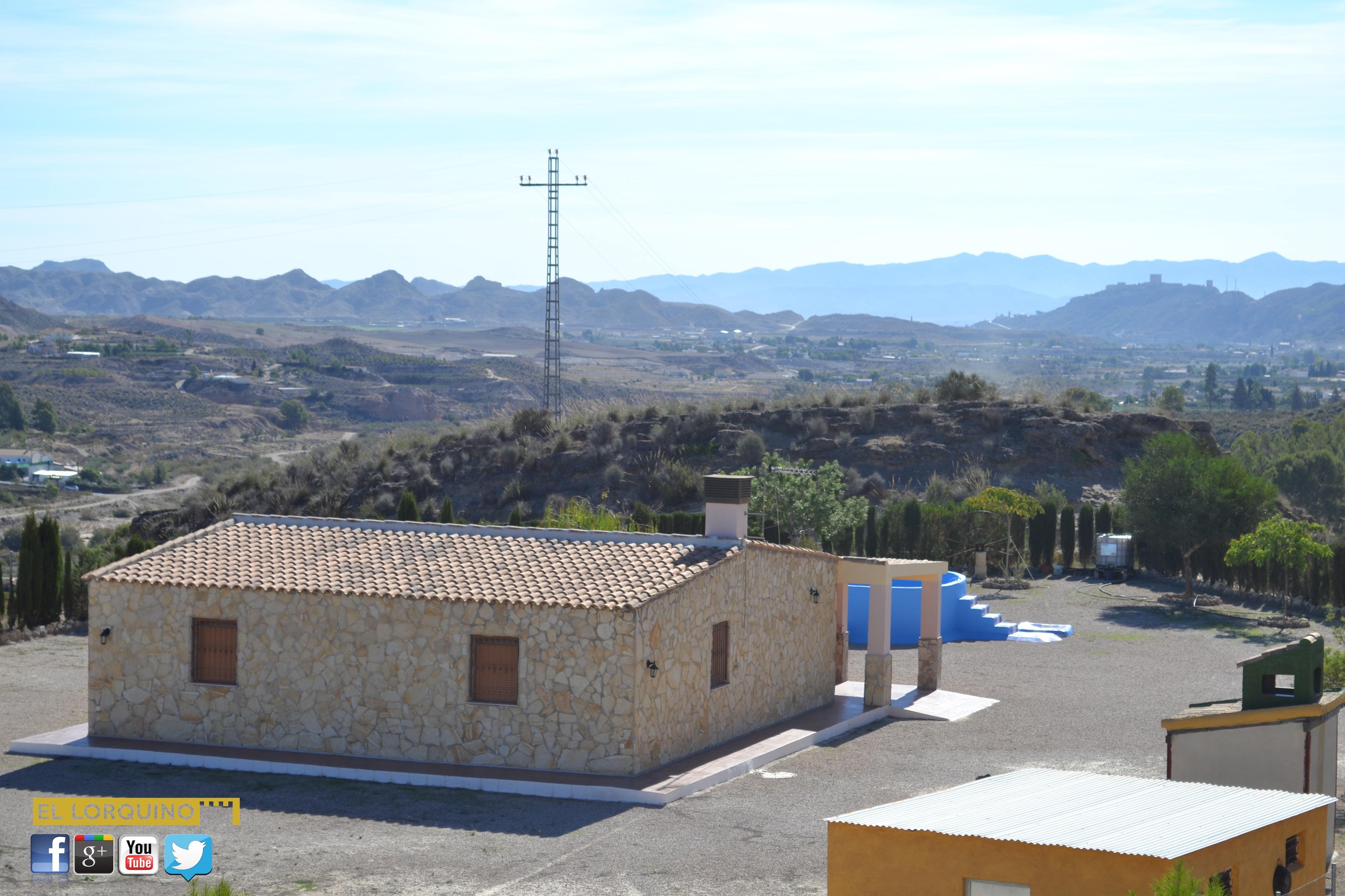 Se vende casa con terreno en el consejero lorca murcia - Casa con terreno murcia ...