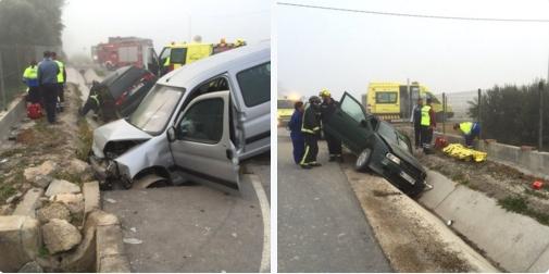 coches accidentados campillo