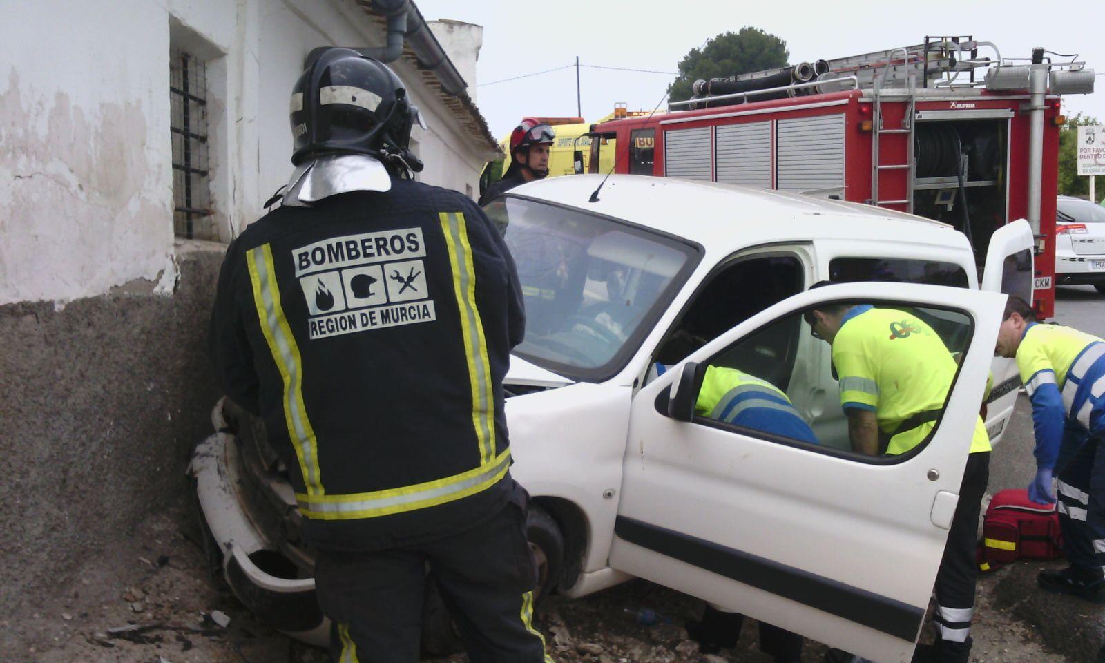 accidente cieza coche