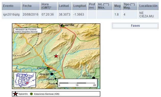 terremoto en cieza