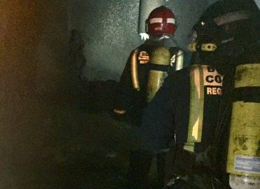 Sin heridos el incendio en el interior de un chalet en Las Reposaderas (Calasparra)