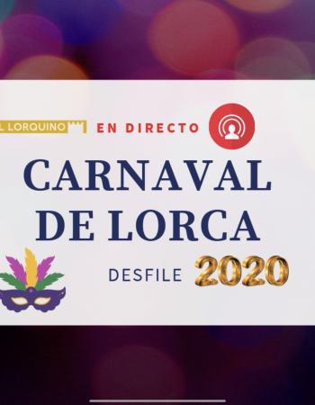 ¿Te perdiste el desfile de Carnaval en Lorca? VÍDEO COMPLETO AQUÍ