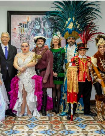 Marina Sánchez se convierte en la protagonista del Carnaval 2020